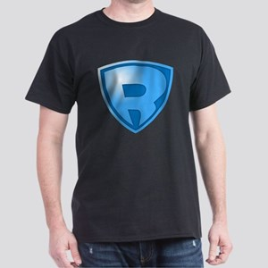 Super R Super Hero Design T-Shirt